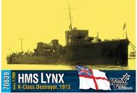 """Английский миноносец HMS """"Lynx"""" (K-Class), 1913"""