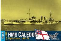 """Легкий крейсер HMS """"Caledon"""", 1941 fit"""