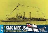 """Германский легкий крейсер SMS """"Medusa"""", 1901 г."""