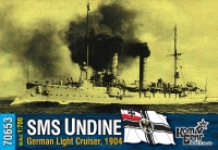 "Германский легкий крейсер SMS ""Undine"", 1904 г."