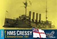 "Броненосный крейсер HMS ""Cressy"", 1901 г."