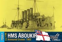"""Броненосный крейсер HMS """"Aboukir"""", 1902 г."""