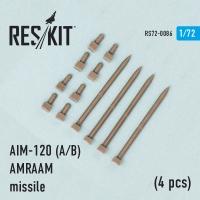 Ракета AIM-120 (A/B) AMRAAM (4 шт.) (F-15A/C/D/E, F-16A/C, F/A-18A/C)