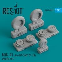 MiG-21 (bis/MT/SMT/21-93) смоляные колеса