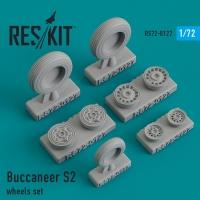 Buccaneer S2 смоляные колеса
