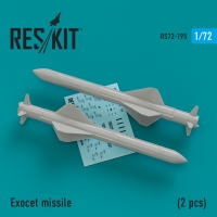 Exocet missile (2 штуки)