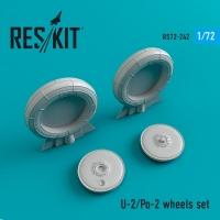 U-2/Po-2 смоляные колеса