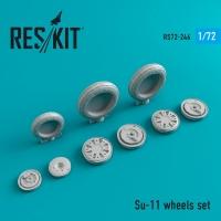 Su-11 смоляные колеса