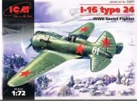 Cоветский истребитель И-16 тип 24