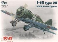 Cоветский истребитель WWII И-16 тип 28