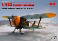 Истребитель ВВС Финляндии И-153, WWII