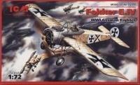 Немецкий истребитель WWI Фokkeр E-IV