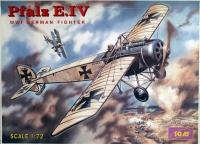 Немецкий истребитель WWI Пфальц E-IV