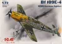 Немецкий истребитель WWII Bf -109 E-4