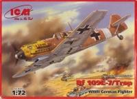Немецкий истребитель WWII Bf -109 E -7 /Trop (тропическая версия)