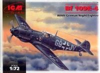Немецкий ночной истребитель WWII Bf 109E-4