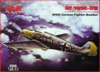 Bf 109E-7/B немецкий истребитель, WWII
