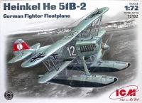 Немецкий истребитель-гидроплан Хейнкель He-51B-2