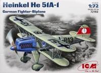 Немецкий истребитель-биплан Хейнкель Не-51 А-1