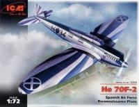 Самолет-разведчик ВВС Испании Не-70 F-2