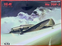 Немецкий самолет-разведчик He 70F-2