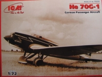 Немецкий пассажирский самолет He 70G-1
