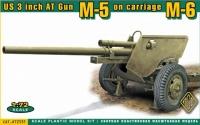 Американская трехдюймовая ПТП М-5 на лафете M6