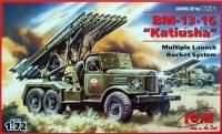 """БM-13-16 """"Катюша"""", реактивная система залпового огня на базе Зил-157"""