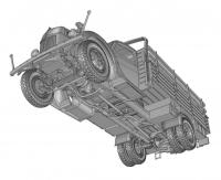 Немецкий 3-т грузовик V3000S с кузовом раннего типа