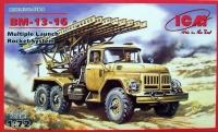 BM-13-16, реактивная система залпового огня на базе Зил-131