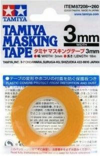 Маскирующая лента шир. 3 мм