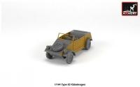 Автомобиль Type 82 Kübelwagen (эпоксидная смола)