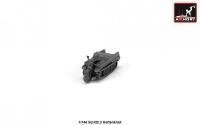 Автомобиль Sd.Kfz.2 Kettenkrad (эпоксидная смола)