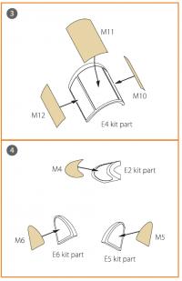 Маска для окрашивания самолета Ла-5