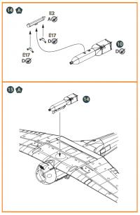 Дополнительный набор деталей для Ki-51 Sonia всех версий