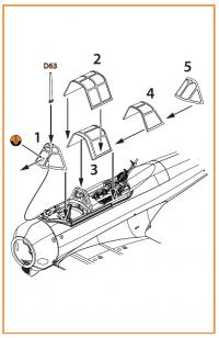 Остекление кабины для Ki-51 Sonia всех версий