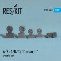 "A-7 ""Corsair II"" (A/B/C/E) Колеса"