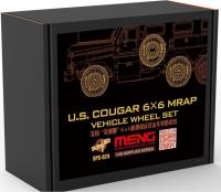 Эпоксидные колеса для американского бронеавтомобиля COUGAR 6x6