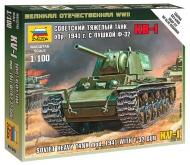 Советский танк КВ-1 с пушкой Ф-32