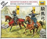 Конные самураи-лучники