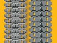 Набор раздельных траков для танков КВ ранних серий
