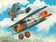 Истребитель WWI Pfalz DXII