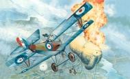 Истребитель WWI Ньюпор 16С
