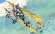 Истребитель WWI Авиатик (Берг) Д- I