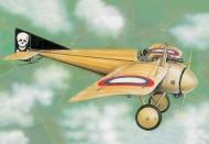 Истребитель WWI Моран I