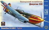 Франзузский истребитель Девуатин 520