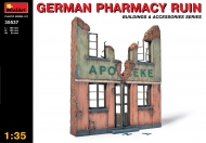 Разрушенная немецкая аптека