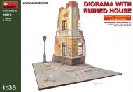 Диорама с разрушенным зданием
