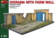 Диорама со стеной фермы