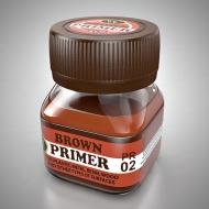 Грунт коричневый